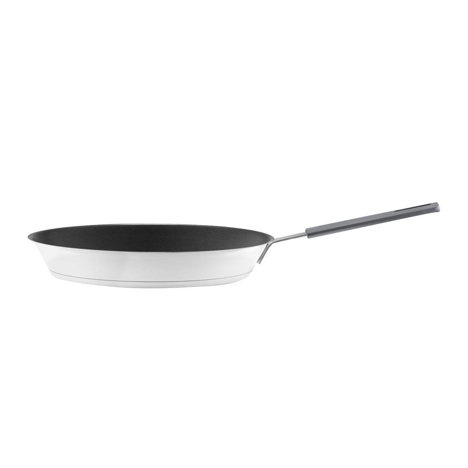 Eva Solo Gravity Cookware - Stainless Steel Frying Pan with Non-stick Slip-let Coating