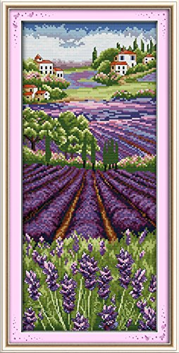 YEESAM ART New Cross Stitch Kits Advanced Patterns for Begin