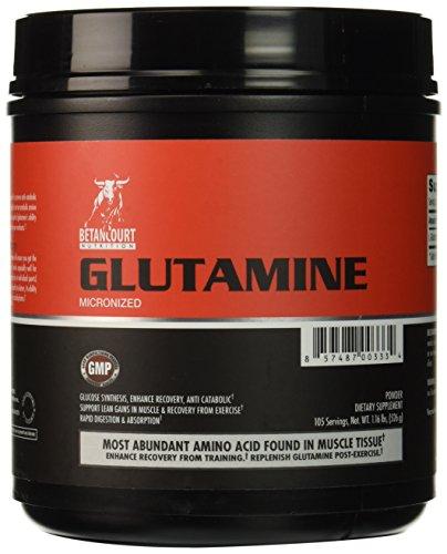 Betancourt Nutrition Glutamine Nutritional-Supplement, 525 G