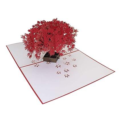Outflower. 3D Tarjeta de Felicitación, Tarjeta Postal Hueco ...