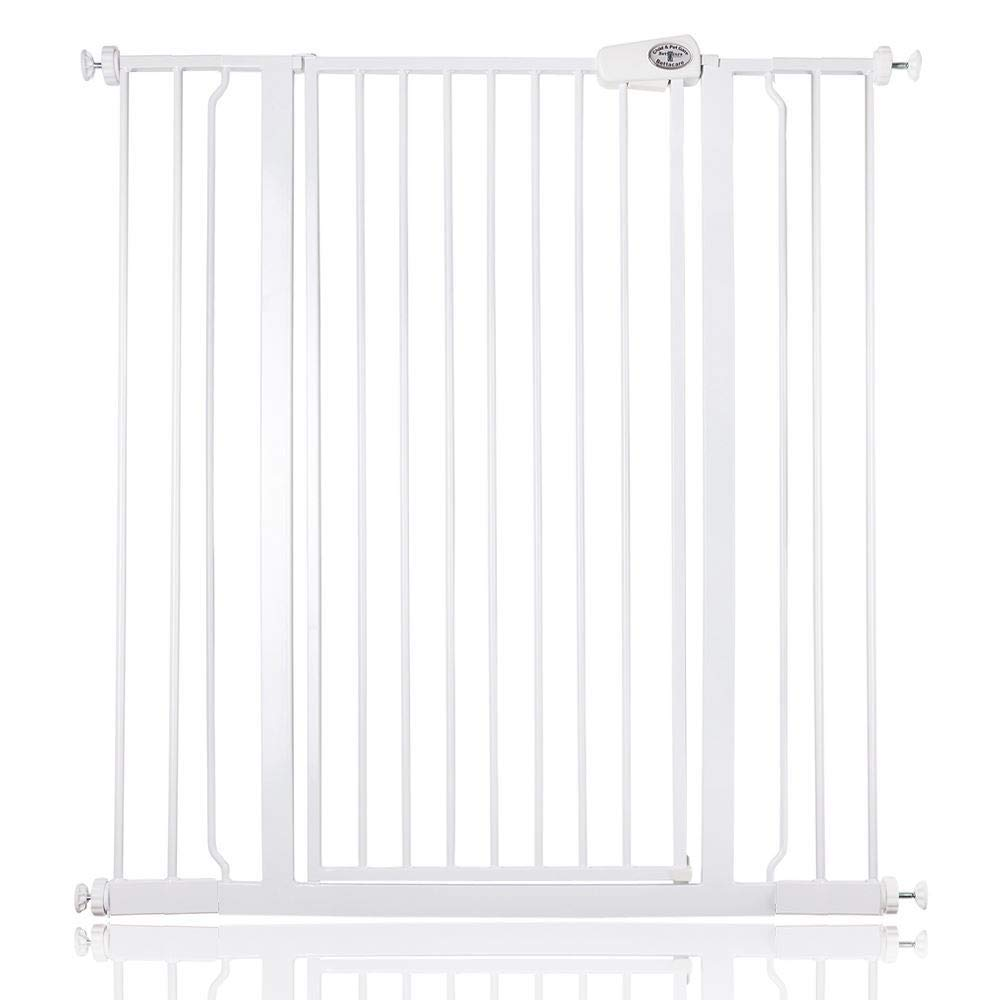 Bettacare Extra Tall Screw Fitted Safety Gate Black