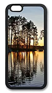 The Twilight Island Tree TPU Silicone Case Cover for iphone 6 4.7inch black
