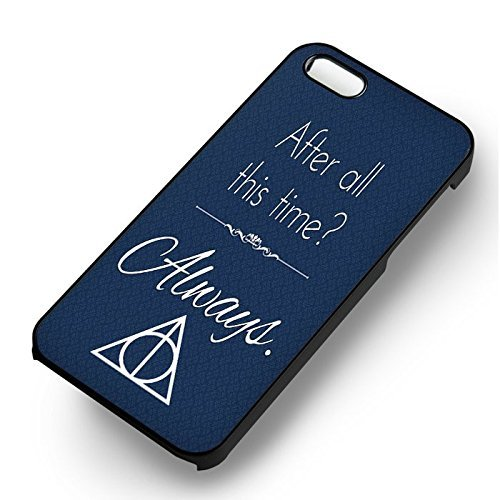 Harry Potter After All This Time pour Coque Iphone 6 et Coque Iphone 6s Case (Noir Boîtier en plastique dur) H7U0TI