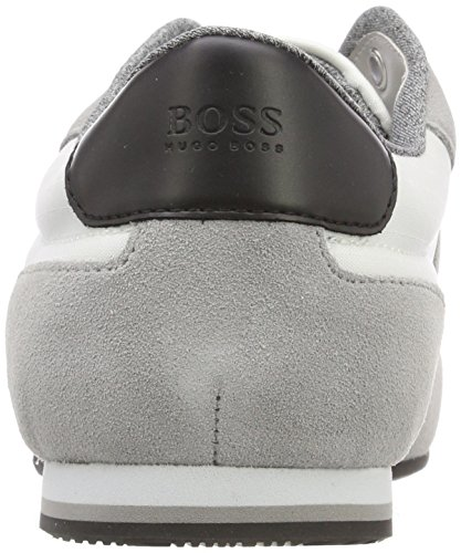 Hugo Boss Mens Lighter Memory Foam Scarpe Da Ginnastica Sneakers Aperte Bianco