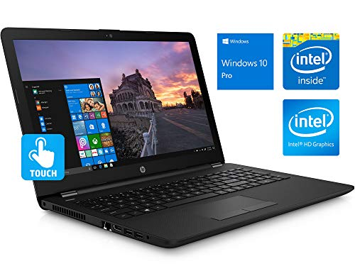 HP 15.6' HD Touchscreen Notebook, Intel Quad-Core Pentium Silver N5000 Upto 2.7GHz, 8GB DDR4, 256GB SSD, HDMI, Windows 10 Pro, Customized to Meet Specs as Listed