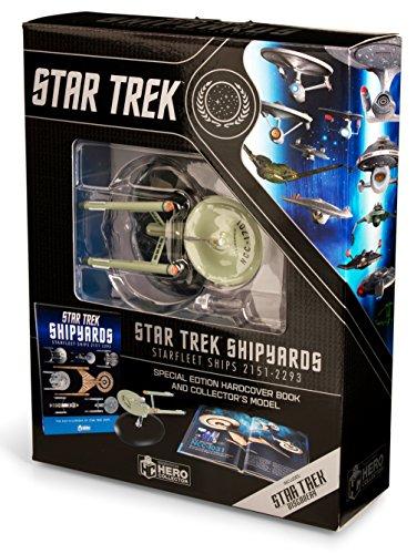Star Trek Shipyards Star Trek Starships: 2151-2293 The Encyclopedia of Starfleet Ships Plus Collectible