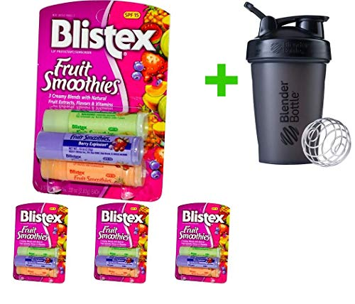 Blistex, Fruit Smoothies, Lip Protectant/Sunscreen, SPF 15,
