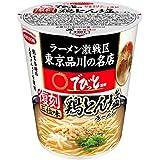 エースコック でびっと監修 鶏とん塩ラーメン 63g×12個入り (1ケース)