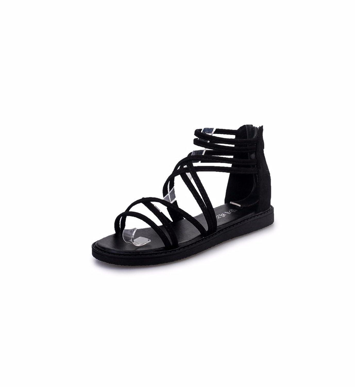 05dc9bea YUCH Las Mujeres Zapato Abierto Sandalias De Tiras De Casual Zapatos De  Estudiante Bueno wreapped
