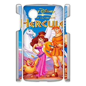 Design Cases Google Nexus 5 Cell Phone Case White Hercules Disney Prwdwv Printed Cover