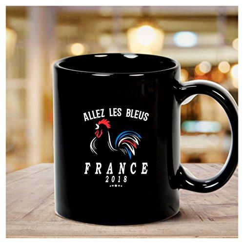 - World Cup Champions France Soccer Football 2018 Allez Les Bleus Mug