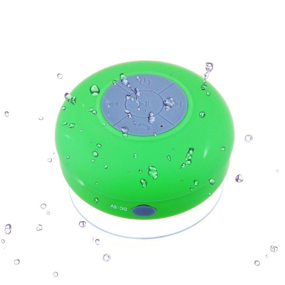 Amazon.com: Soundworx Mini Bocina VERDE Resistente al Agua con Bluetooth 3.0, Portable con Manos Libres y Microfono, 6hrs de reproduccion, para telefono, ...