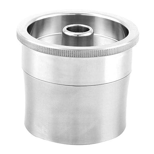 Filtro reutilizable, cápsula de café recargable de acero ...