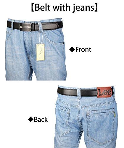 Compra QISHI YUHUA Belt Men's Leather Ratchet Belt,pd-s-110 en Usame