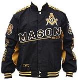 Mason Mens Twill Jacket 4XL Black/Gold