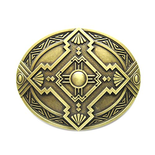 Hopi Peace Symbol III Belt Buckle ()