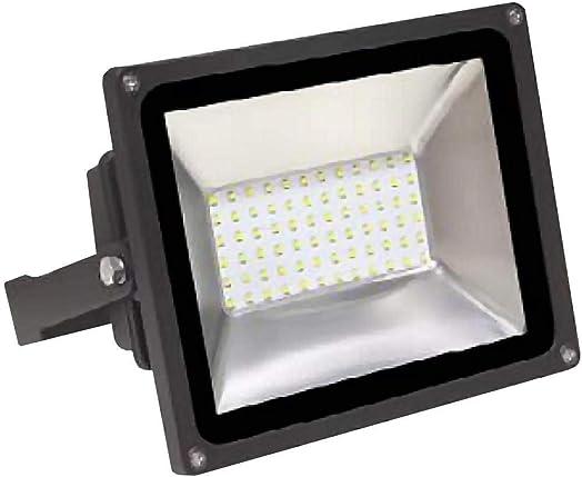 MaxLite FLS50U50BP1 G2 Small Flood Light Single Light 7 Tall 50 Watt Integrated LED Commercial Flood Light – 5000K