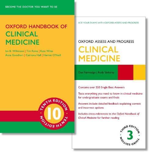 Oxford Handbook of Clinical Medicine 10e and Oxford Assess and Progress: Clinical Medicine 3e (Oxford Handbook Of Clinical Medicine 10th Edition)