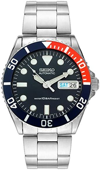 Amazon.com: Seiko Mens SKX033K2 Automatic Stainless Steel ...