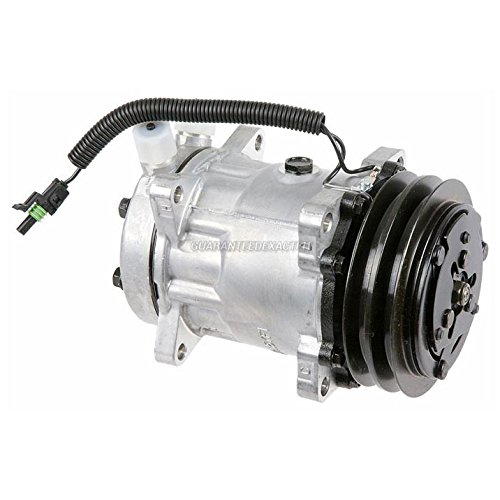 Brand New Premium Quality AC Compressor & A/C Clutch Replaces Sanden 4664 4639 - BuyAutoParts 60-02160NA New