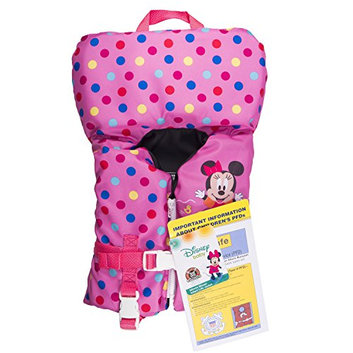 SwimWays Disney Minnie Mouse Infant Life Jacket