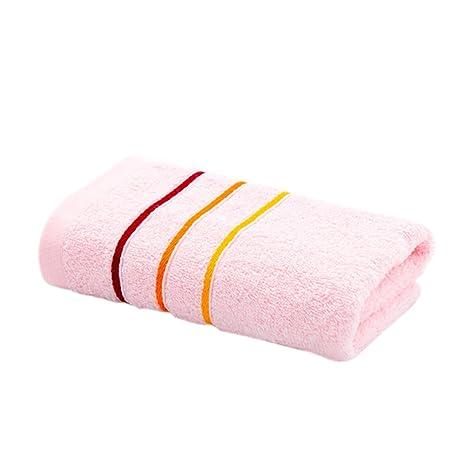 Aikesi 1pcs Toalla Color bar Estilo Necesidades diarias Toalla de playa Algodón Toalla de baño grande
