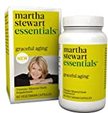 Martha Stewart Essentials Graceful Aging Supplement, 60 Vegetarian Capsules