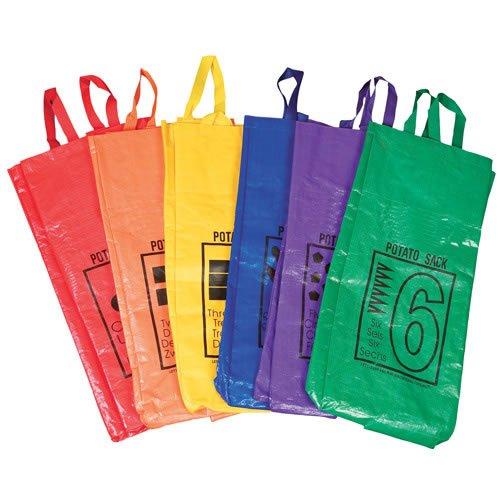 None Potato Sack Jumping Bags (set of 6)