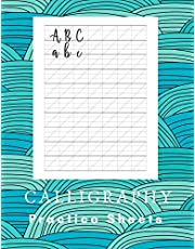 Calligraphy Practice Sheets: Calligraphy and Hand Lettering - Sheet Pad