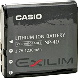 Casio NP-40 Battery for EXILIM Cameras