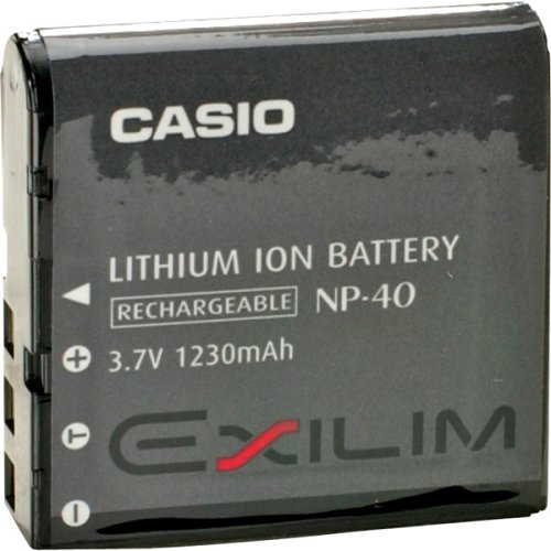 Casio NP-40 Battery for EXILIM Cameras NP40