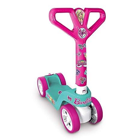 Grandi Giochi gg00595 - Patinete 4 Ruedas Barbie: Amazon.es ...