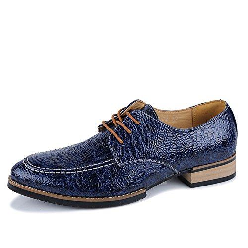 Inglaterra en los zapatos de ocio de verano/Corte de corriente bajo hombres zapatos/Zapatos con cordones Casualesesese acentuados Azul