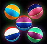 DollarItemDirect 9.5'' Blacklight Responsive UV Basketball, Case of 1