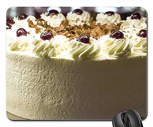 - Mouse Pad - Black Forest Cake Cake Cream Dessert Food Calories