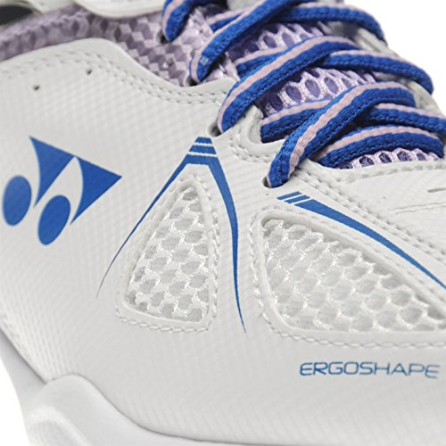 Yonex Power Cushion 35 Damen Badminton Schuhe Sportschuhe Turnschuhe Weiß/Lila