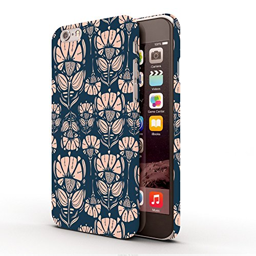 Koveru Back Cover Case for Apple iPhone 6 - Flowers in dark