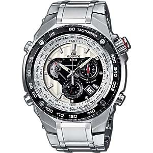 CASIO - EFE-500D-7AVEF EFE-500D-7AVEF Edifice - Reloj de caballero de cuarzo, correa de acero inoxidable varios colores (con alarma)