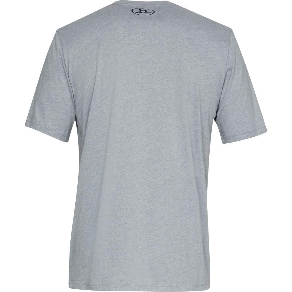 Sportshirt mit Loser Passform Under Armour Herren Sportstyle Left Chest SS Komfortables T-Shirt f/ür M/änner mit Logo auf der Linken Brust