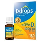 Ddrops Adults 1000IU Liquid Vitamin D3 Drop, 5ml