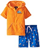 Quiksilver Little Boys' Hoody Top Microfiber Shorts