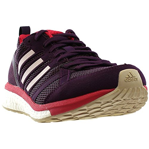 brand new 6a27a ad6a7 Galleon - Adidas Women s Adizero Tempo 9 W Running Shoe, Red Night Ice Pink Energy  Pink, 5.5 Medium US