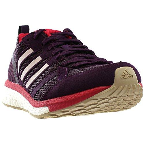 adidas Women's Adizero Tempo 9 w Running Shoe, Red Night/Ice Pink/Energy Pink, 5.5 Medium US