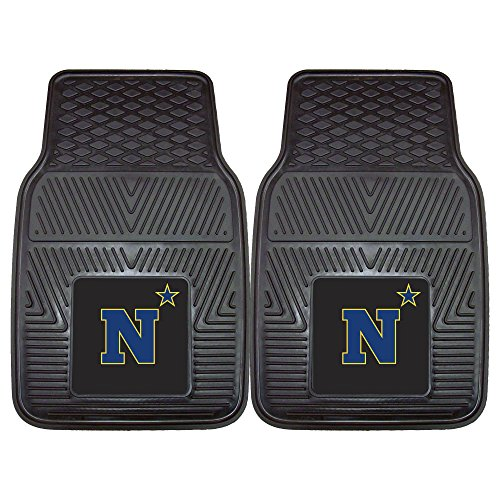 Fanmats 20616 U.S. Naval Academy Vinyl Car Mat, Team Color, 17