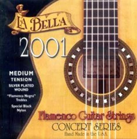 Juego La Bella 2001 Medium Flamenca: Amazon.es: Instrumentos musicales
