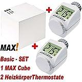 MAX! Heizungsteuerung Basic- / Starter-Set