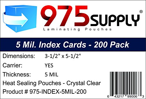 How to find the best laminator pouches index cards for 2020?