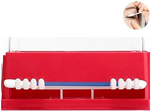 Caja de Almacenamiento cosmética Bastidores de algodón Organizador ...