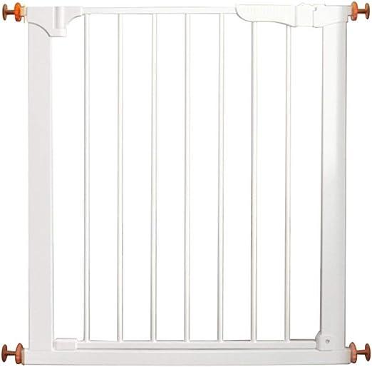 JHUEN Puertas para bebés montadas a presión para Puertas Escaleras Puertas metálicas para Mascotas Puertas Extra Anchas Puertas seguras de 75 a 96 cm de Ancho (tamaño: 75 a 81 cm): Amazon.es: Hogar
