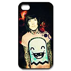 ByHeart Oliver Sykes Hard Back Case Shell Cover Skin for Apple iPhone 4 and 4S - 1 Pack - Retail Packaging - 8636
